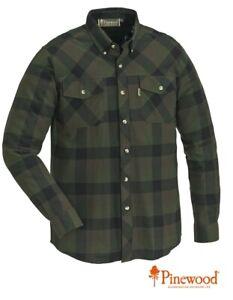 Langärmeliges Flanellhemd. Pinewood Lumbo Hemd