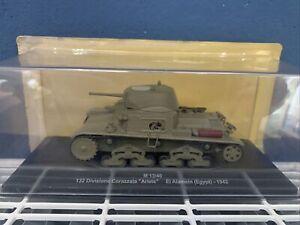 EAGLEMOSS M13/40 TANK 132 Divisione Corazzata ARIETE El Alamein Egypt 1942