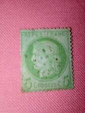 STAMPS - TIMBRE - POSTZEGELS - Republique Française 1871   NR. 48a  (F 95)