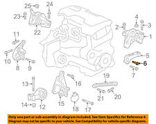 GM OEM Engine Mounting-Mount Bracket Bolt 11589275