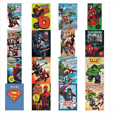 Marvel Greeting Cards (Assorted)