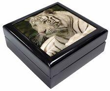 White Tiger Keepsake/Jewellery Box Christmas Gift, AT-48JB