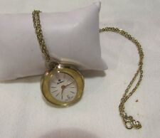 Vintage Fieldston women's Necklace watch Mechanical wind up  works F107