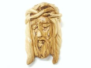 8 Inch Face of Jesus with Crown of Thorns Wall Plaque Holy Prayer Christmas Gift