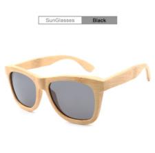Hot Natural Bamboo Handmade Wood Polarized Sunglasses Mirrored Wooden Glasses