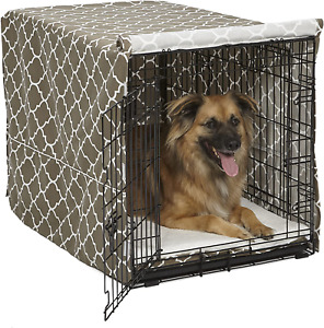 36 Large Giant Breed Dog Crate Kennel XL Pet Wire Cage Huge Folding Cover