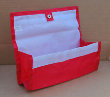 Red Deluxe Hannah Hansen Coupon Organizer Expandable w/ 2 FREE Extra Organizers