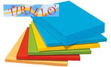 CARTOLERIA - 20 fogli carta colorata A4 160 g - Giallo
