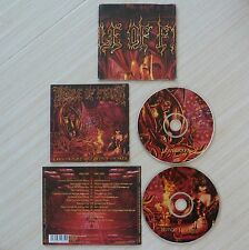 2 CD album LOVECRAFT & WITCH HEARTS CRADLE OF FILTH 24 TITRES