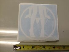 Panty Dropper Cir WHITE Sticker decal Car window jdm illest slammed mini truck