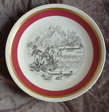 """Villeroy & Boch MIGNON Opera Plate MOTTAHEDEH DESIGN Made in Germany 9.5"""""""