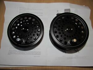 "A1 unused hardy alnwick ultralite disc salmon fly fishing reel 4"" + spare spool"