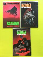Batman Last Knight On Earth (2019) #1-3 Complete Lot 1st Prints Snyder DC NM 9.4