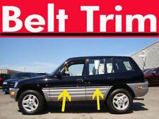 ToRAV4 RAV 4 CHROME SIDE BELT TRIM DOOR MOLDING 2001 2002 2003 2004 2005