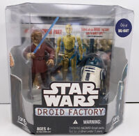 NEW | Star Wars Droid Factory PLO KOON & R4-F5 Walmart Exclusive 1 of 6