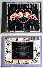 COMMODORES All The Great Love Songs .. 1984 Motown CD TOP