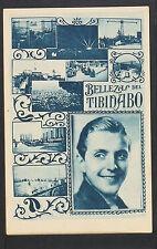 2437.-BARCELONA -Belleza del Tibidabo