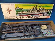 1/500 RENWAL (1985): Destroyer Leader U.S.S.-King ( Guided Missile Ship )