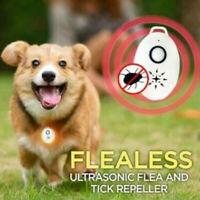 1 Pcs USB Flealess Ultrasonic Flea Tick Repeller Pets Supplies Accessories