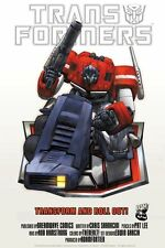 TRANSFORMERS POSTER: Optimus on Autobot shield Poster 27  x 39 G1 Classic HTF