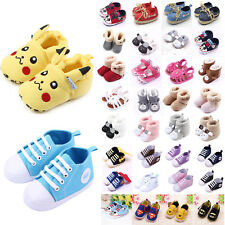 Toddler Baby Boy Girl Trainers Crib Pram Shoes Prewalkers Sneaker Snow Booties