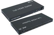 HDMI 8Way Splitter 3D w/IR Extension 1 IN 8 Out