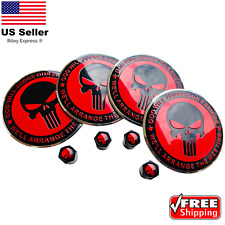 "2nd Amendment Hub Cap Wheel Center Sticker 2.2"" & Tire Caps Valve [BUNDLE]"