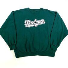 NWOT VTG Los Angeles Dodgers World Series Champions Sweatshirt 2XL XXL Green