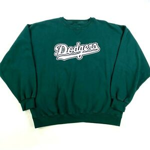 NWOT VTG Los Angeles Dodgers World Series Champions Sweatshirt 2XL XXL Green