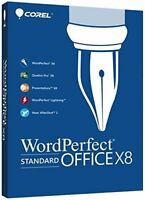 WordPerfect Office X8 Standard Official Download Link Serial Number