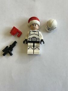 Lego Star Wars Minifigure - Clone Trooper Santa Hat sw0596 75056 Advent Calendar