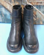 Men's Mossimo Lace Up Boots Black 8