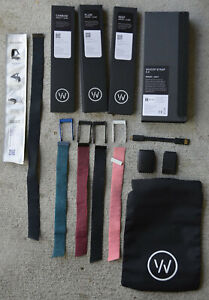WHOOP Strap 3.0 Activity Heart Rate Fitness Sleep Tracker 5 Bands + Charger Lot