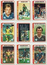 Chelsea signed Topps Football set 1978 1979 Blue Backs Pick your card