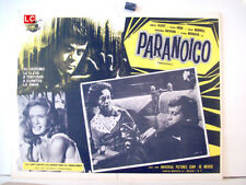 ¡ONLY AVAILABLE 24h.!/ PARANOIAC/OLIVER REED/1963/OPTIONAL SET/55217/1 MEXICAN L