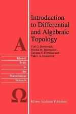 Introduction to Differential and Algebraic Topology 9 by Y. A. Izrailevich,...