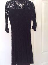 BNWT Kookai Lace Dress With Scalloped Hem In UK 8 (34)