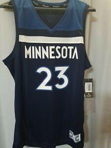 NWT Sz. M Jimmy Butler Minnesota Timberwolves Fanatics NBA Replica Jersey Mens