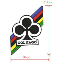 Colnago decal label white background size 115 x 80mm No.106m us