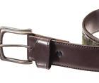 RedHead TrueTimber Split Tab Belt for Men - Kanati camo wrapped in leather- 36