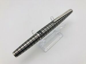 K0838 PILOT Elite Japan Fountain pen  Plaid 18K Gold 750   <F>