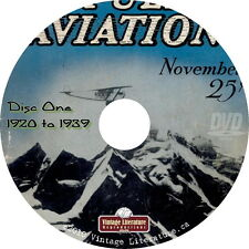 Popular Aviation Magazine ~ Vol #1 - 4 { 377 Issues from 1920 to 1963 }  on DVD