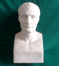 STATUE BUSTE NAPOLEON BISCUIT de PORCELAINE ORIGINAL PAR CANOVA 24 CM EMPIRE