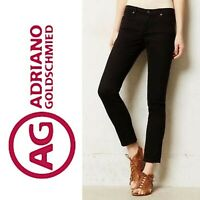 $178 AG ADRIANO GOLDSCHMIED the STEVIE 2327 Slim Straight Jeans Size 27