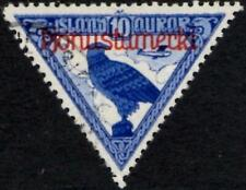 Iceland 1930 Official  10a  Gyrfalcon  Airmail  SG.O189 Used  Scott #CO1