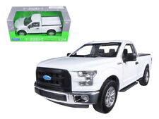 2015 Ford F150 Regular Cab Pickup White 1:24 Diecast Model - Welly 24063Wh*