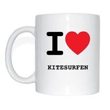 I Love kitesurf tazza di caffè Tazza