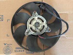 volvo xc70 s80 xc60 cooling fan larger dual set up w/motor  08-17 TESTED
