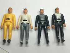 4 VINTAGE STAR TREK MEGO FIGURES LOT 1979 Kirk Spock McCoy +