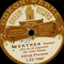 """Alfred piccaver """"Werther"""" cosa mi sono svegliato unilateralmente!!! 78rpm g2037"""